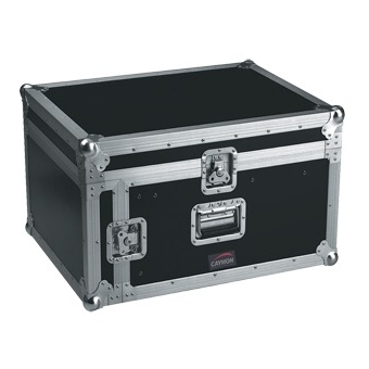 FCC06 - Open-combo Flightcase - 6units + Mixer At Top