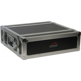 FCMK03 - Professional flightcase for wireless microphone systems with removable front and back lid. #2