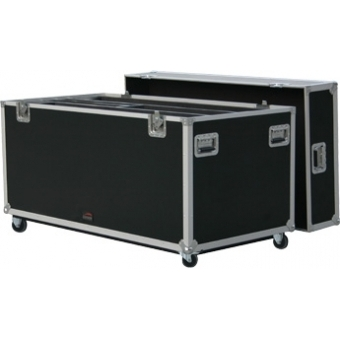 FCP42D - Flightcase for 2x 42 inch plasma screens