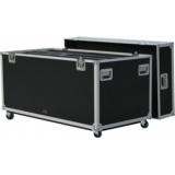 FCP42D - Flightcase for 2x 42 inch plasma screens