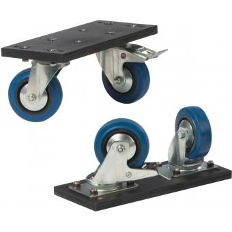 "FCP500MKII - Flightcase for 40"" - 50"" screens - MKII design, wheels included #2"