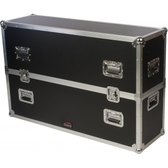 "FCP500MKII - Flightcase for 40"" - 50"" screens - MKII design, wheels included"