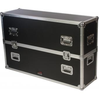 "FCP500MKII - Flightcase for 40"" - 50"" screens - MKII design, wheels included"