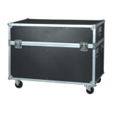 FCP50D - Flight case for two 50 inch plasma screens with speakers at the sides