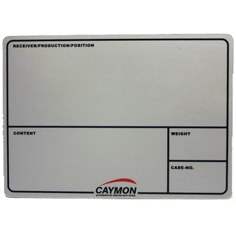 FCPB10 - Self adhesive tags for Caymon flight cases