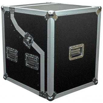 FCS04 - Half Open-combo Flight Case-4units(mixer At Top)