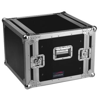 FCX08 - Double cover standard 19 inch rack Flightcase 8U