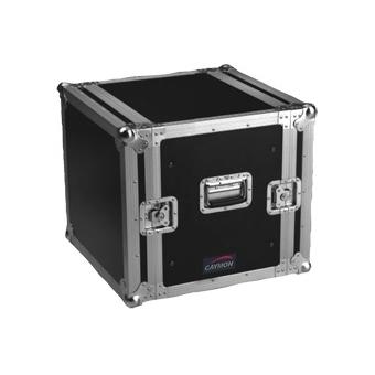 FCX10 - Double cover standard 19 inch rack Flightcase 10U