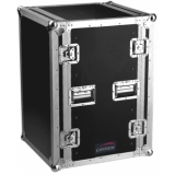 FCX16 - Double Cover Flightcase With16units Useable Height