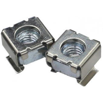 KM600 - Cagenut M6 For Plate Thickness0.5-1.6mm/100pcs