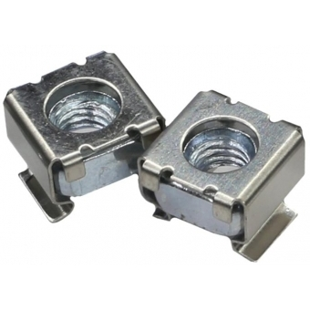 KM600A - Cagenut M6 For Plate Thickness1.6-3.5mm/100pcs