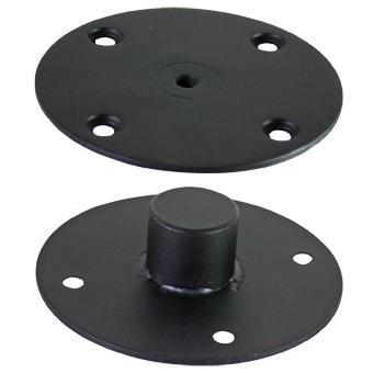 SHB110 - Speaker srew flange for speaker stands with M10 screw connection