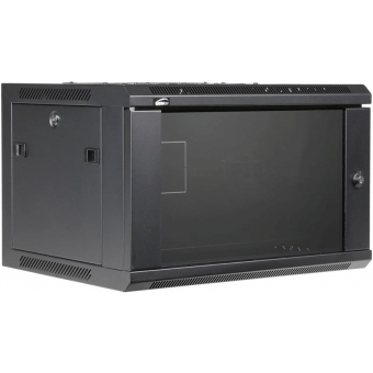 "WPR406 - Wall Mounted 19"" Cabinet - 6 Unit - 450 Mm"