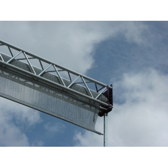 High-Speed-Screen 6 x 6m