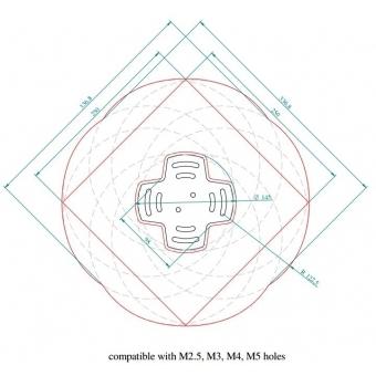 Suport videoproiector Arakno Mini #3