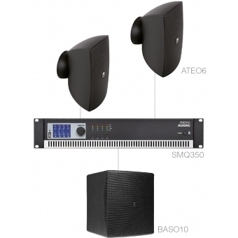 Sistem FESTA 6.3 - SET 2X ATEO6 + BASO10 & SMQ350