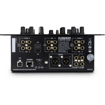 Mixer XONE:23C Allen & Heath + CADOU U8126SL LAPTOP MESSENGER BAG #4