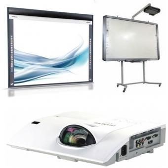 Tabla interactiva mobila Hitachi FX-TRIO-77S - Bundle