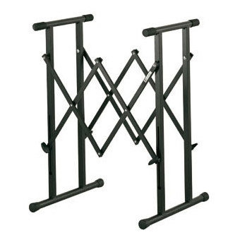 Keyboard stand extandable, double frame H: 805 mm