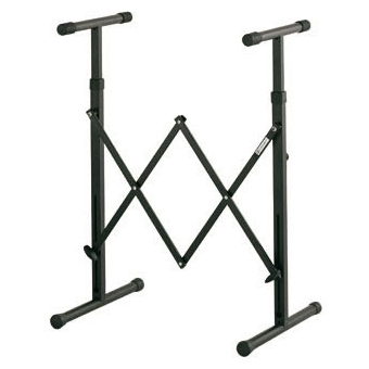 Keyboard stand, extendable, telescopic frame, h: 705-975 mm
