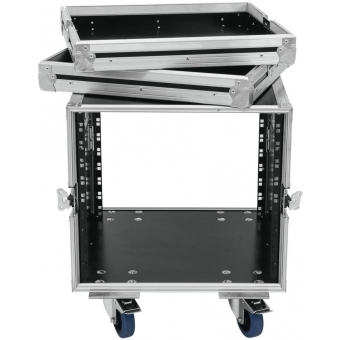 ROADINGER Rack Profi KM 10U 55cm with wheels #4