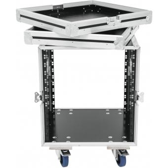 ROADINGER Rack Profi KM 12U 55cm with wheels #4