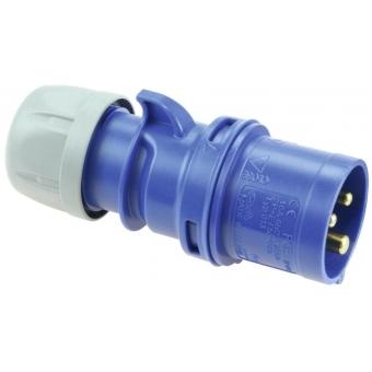 PC ELECTRIC CEE Plug 16A 3pin bu