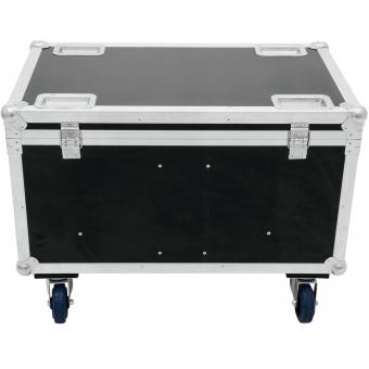 ROADINGER Flightcase 4x Audience Blinder 2xCOB #3
