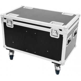 ROADINGER Flightcase 4x Audience Blinder 2xCOB #4