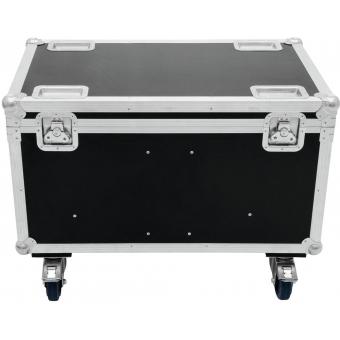 ROADINGER Flightcase 4x Audience Blinder 2xCOB #5