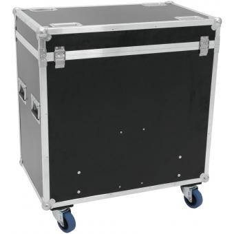 ROADINGER Flightcase 8x Audience Blinder 2xCOB #4