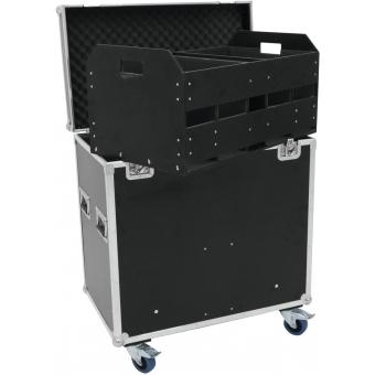 ROADINGER Flightcase 8x Audience Blinder 2xCOB #5