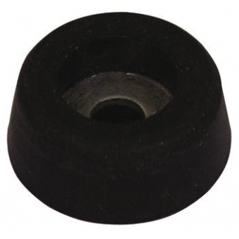 ROADINGER Rubber Foot,diameter 25mm steel ring #2