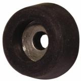 ROADINGER Rubber Foot,diameter 25mm steel ring