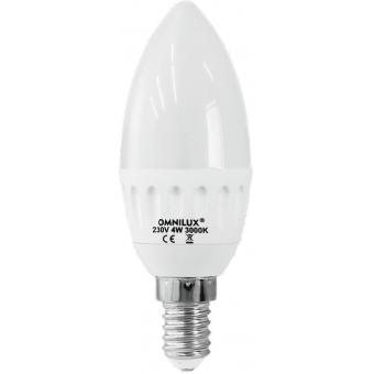 OMNILUX C-37 LED candle 230V 4W E-14 3000K