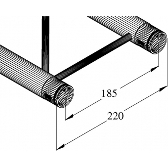 ALUTRUSS DECOLOCK DQ2-200 2-way cross beam #2