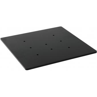 ALUTRUSS Base plate SDQS 40x40 bk
