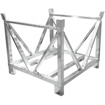 ALUTRUSS Dolly for Steel Base Plates Square 80x80 #2
