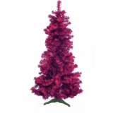 EUROPALMS Fir tree FUTURA, violet metallic, 180cm