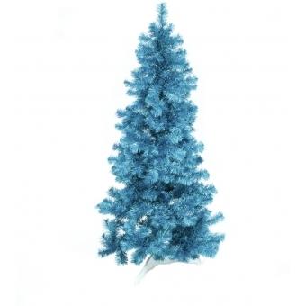 EUROPALMS Fir tree FUTURA, turquoise metallic,180cm