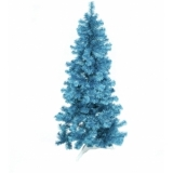 EUROPALMS Fir tree FUTURA, turquoise metallic,180cm