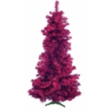 EUROPALMS Fir tree FUTURA, violet metallic, 210cm