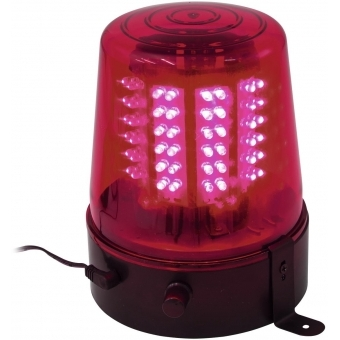 EUROLITE LED Police Light 108 LEDs red Classic #2