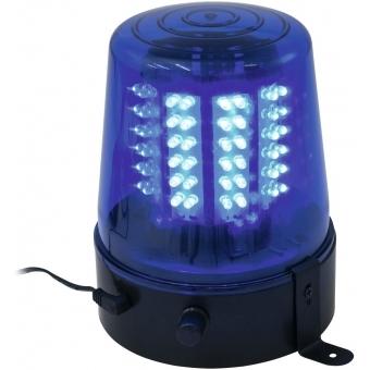 EUROLITE LED Police Light 108 LEDs blue Classic #3