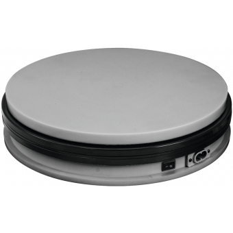 EUROPALMS Rotary Plate 25cm up to 25kg silver #2