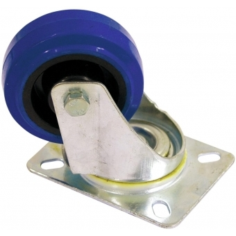 ROADINGER Swivel Castor 80mm blue