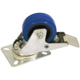 ROADINGER Swivel Castor 80mm blue with brake #2