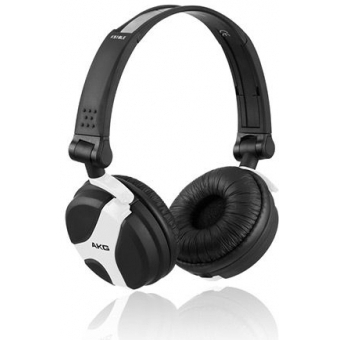 Earpad set black for AKG K 518 DJ and K 518 LE Fuchsia/Green/White #4