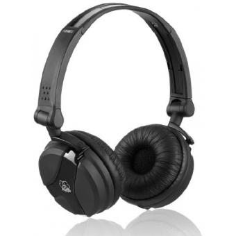 Earpad set black for AKG K 518 DJ and K 518 LE Fuchsia/Green/White