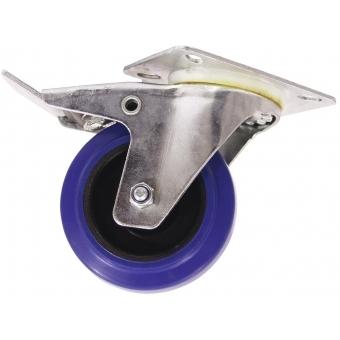 ROADINGER Swivel Castor 100mm blue with brake